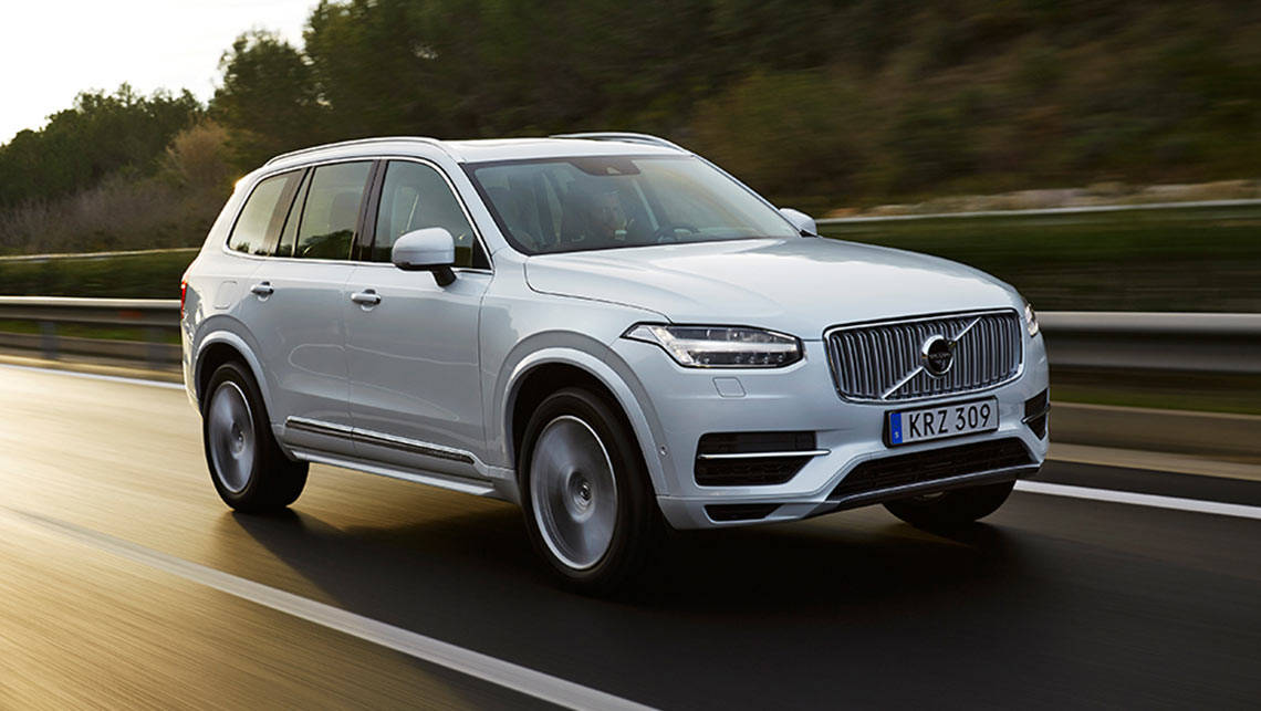 The all-new 2015 Volvo XC90.