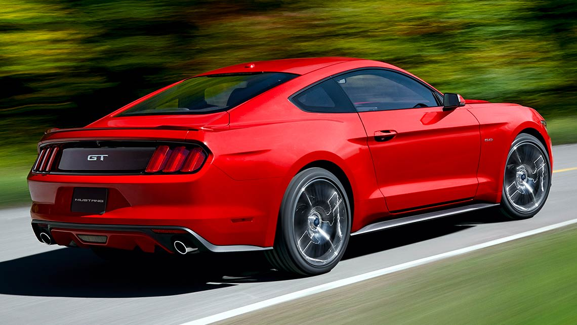 2015 Ford Mustang GT with the 5.0-litre V8.