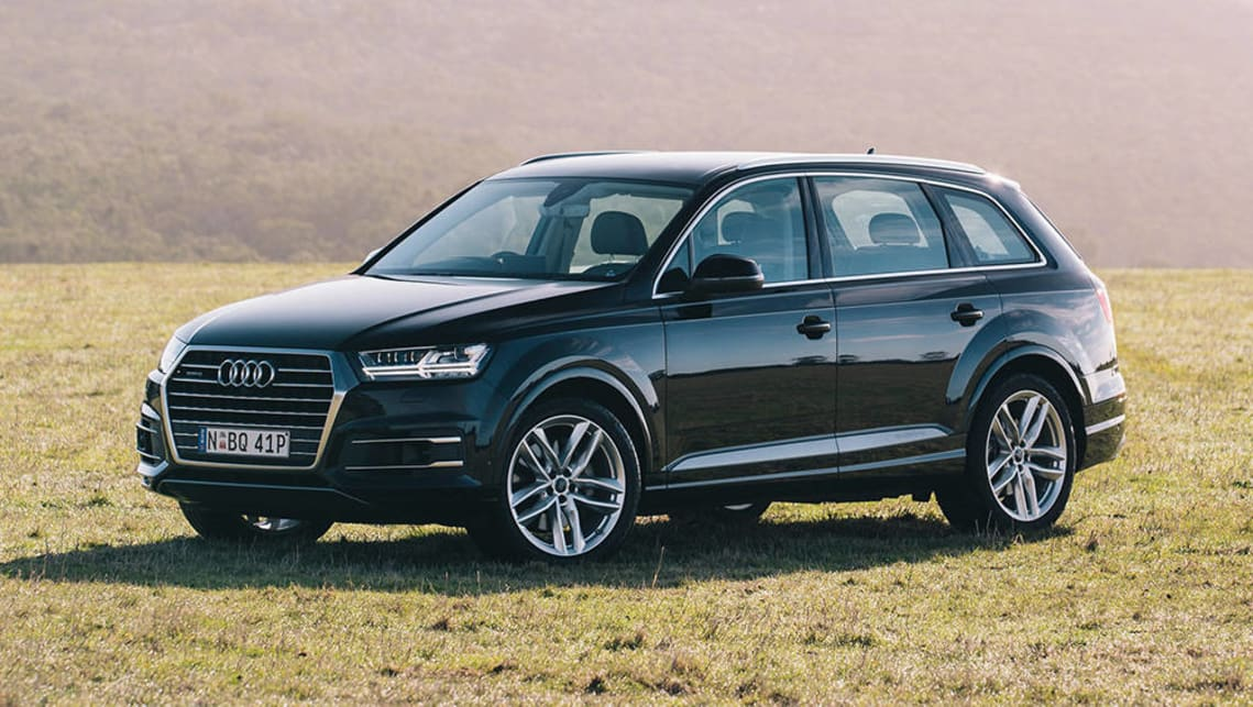 The Audi Q7 is one of the few cars in Australia that can fit three ISOFIX car seats across the back seat.