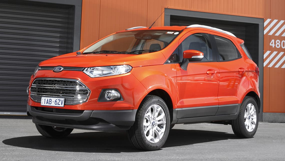 The Ford EcoSport Ambiente may be a lovely little thing, but the Fiesta Ambiente is a full $5000 less.