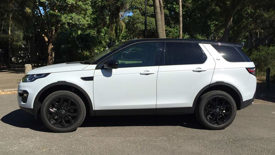 2016 Land Rover Discovery Sport Si4 SE.