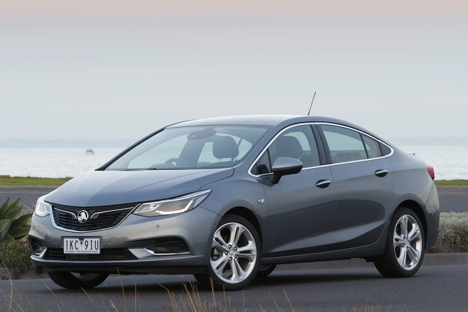 Holden has styled the front to look more like the hatch but I don't think it's fooling anybody.