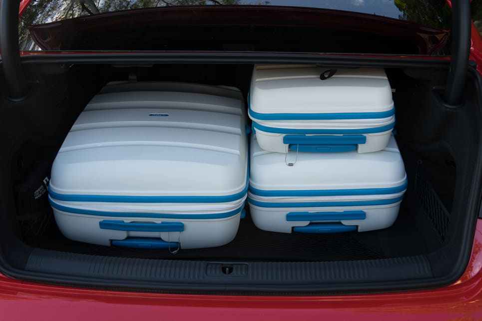 As did our three-piece hard shell suitcase set.
