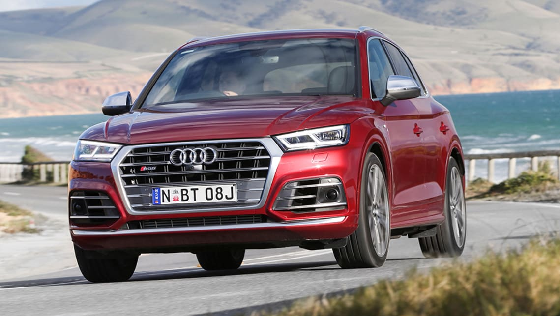 The SQ5 will face stiff local competition.