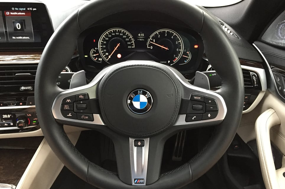 The electrically-assisted steering is smooth over bumps. (Image credit: Vani Naidoo)