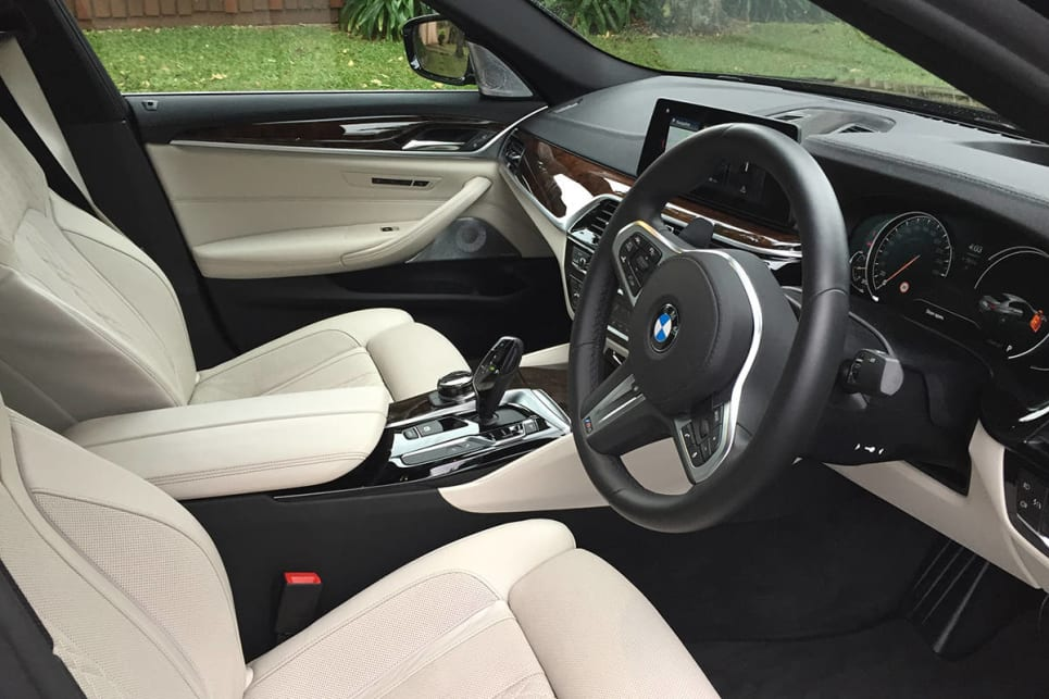 Seating is plush throughout. (Image credit: Vani Naidoo)