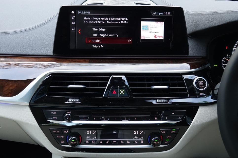 A 10.25-inch colour touchscreen stands proud of the dashtop.