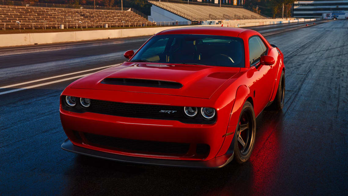 2017 Dodge Challenger Srt Demon Unleashed In Hell S Kitchen Car News Carsguide