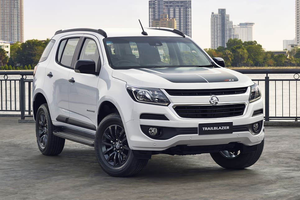 2018 Holden Trailblazer. (Z71 variant shown)