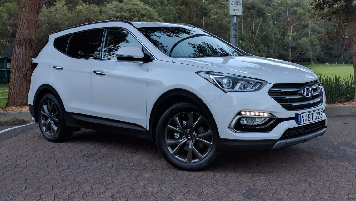 Hyundai Santa Fe Active X 2017 Review Weekend Test Carsguide