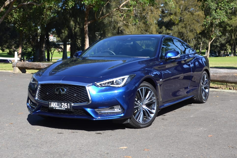 The Q60 GT is a head turner – literally. (Image credit: Richard Berry)