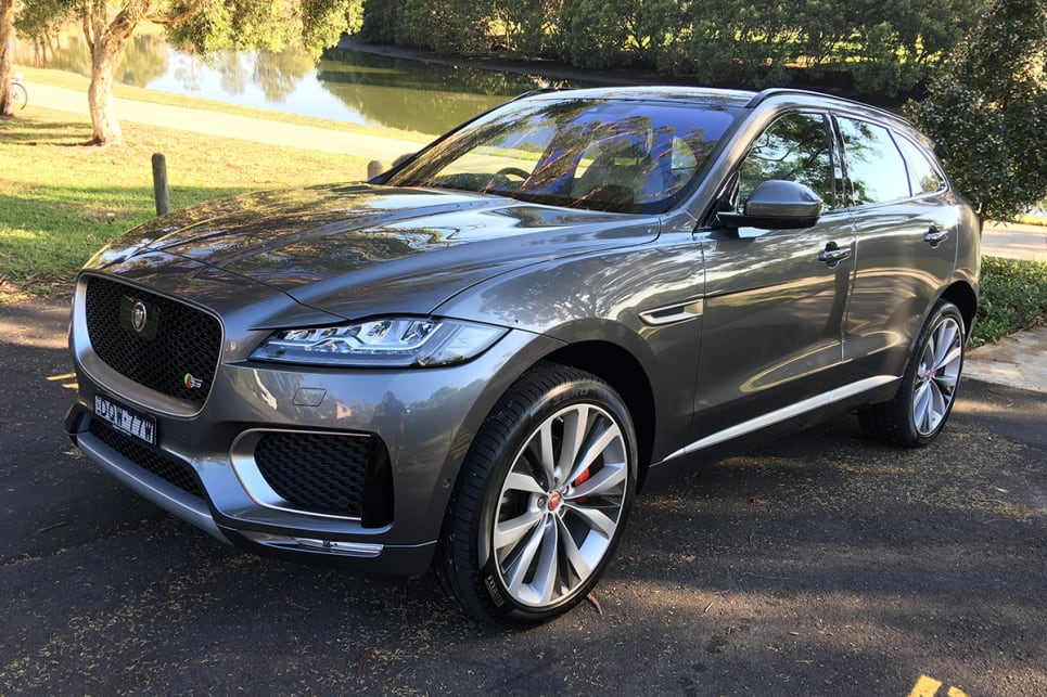 The F-Pace 35t S is now priced at $120,364.