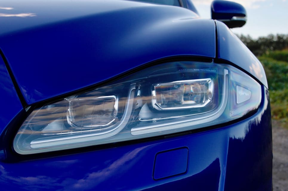 Standard are LED headlights, DRLs, auto wipers and headlights. (Image credit: Max Klamus)