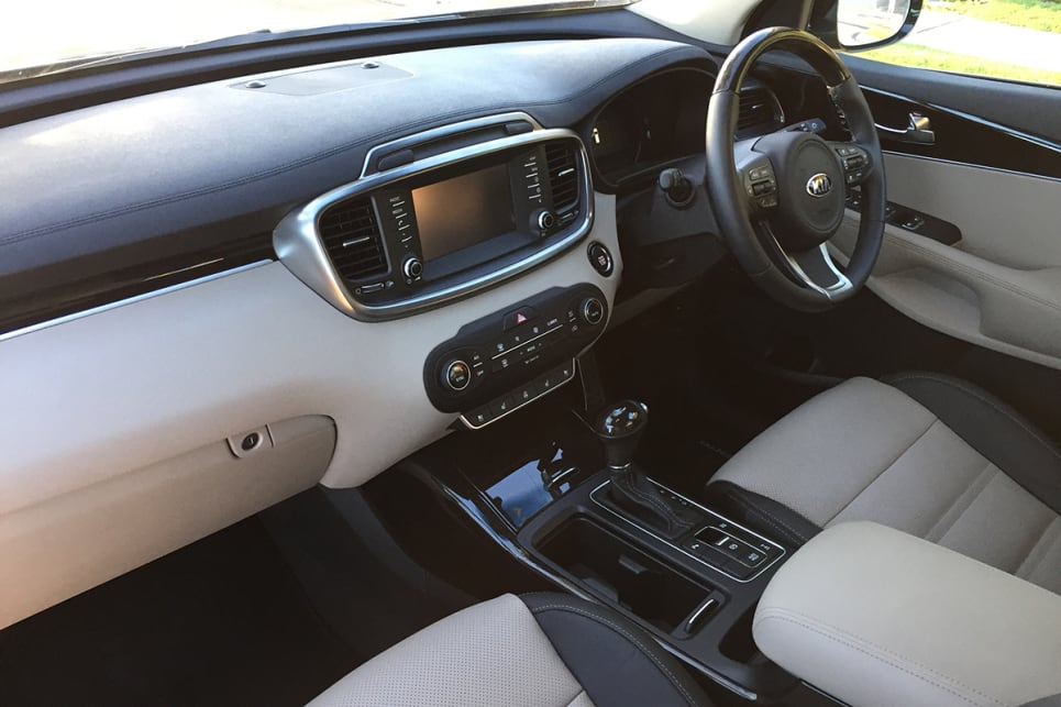 The air of prestige is replicated on the inside. (image credit: Vani Naidoo)