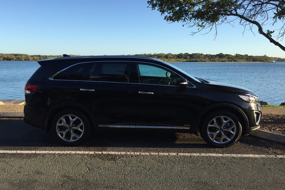 The Sorento is a handsome looking chap, sleek and sophisticated, sitting low on its haunches. (image credit: Vani Naidoo)