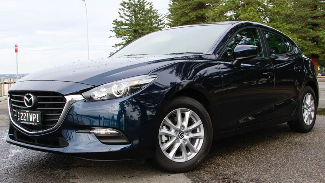 The Mazda3 range offers good looks, safety, reasonable fuel economy, good resale and five-door practicality. (Image credit: Peter Anderson)