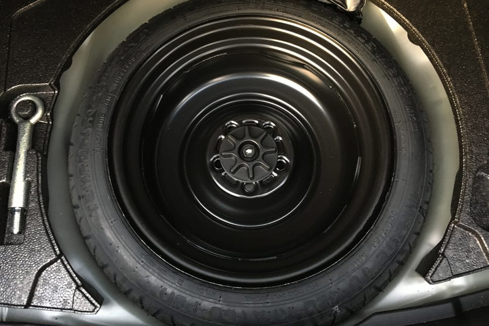 None of the range features a full size spare. (Image credit: Peter Anderson)