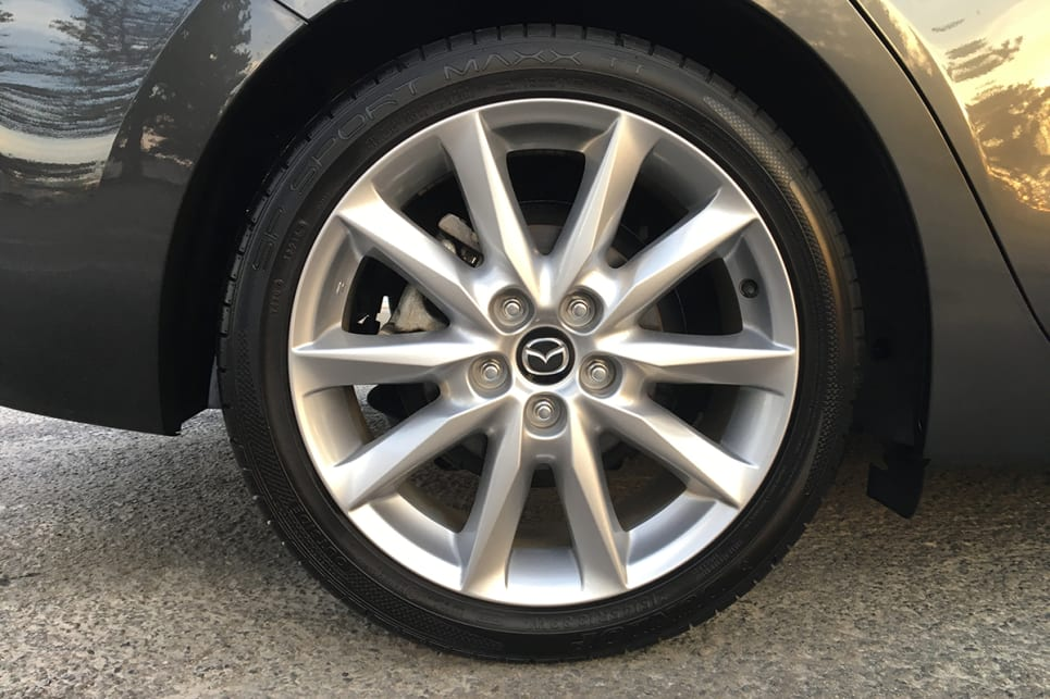 Whether rolling on 16 or 18-inch rims, the car has a good road presence. (Image credit: Peter Anderson)
