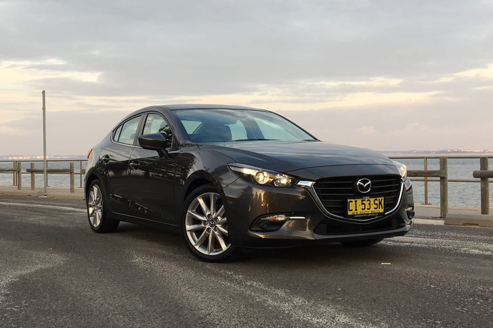 2017 Mazda 3 (SP25 variant shown) (image credit: Peter Anderson)