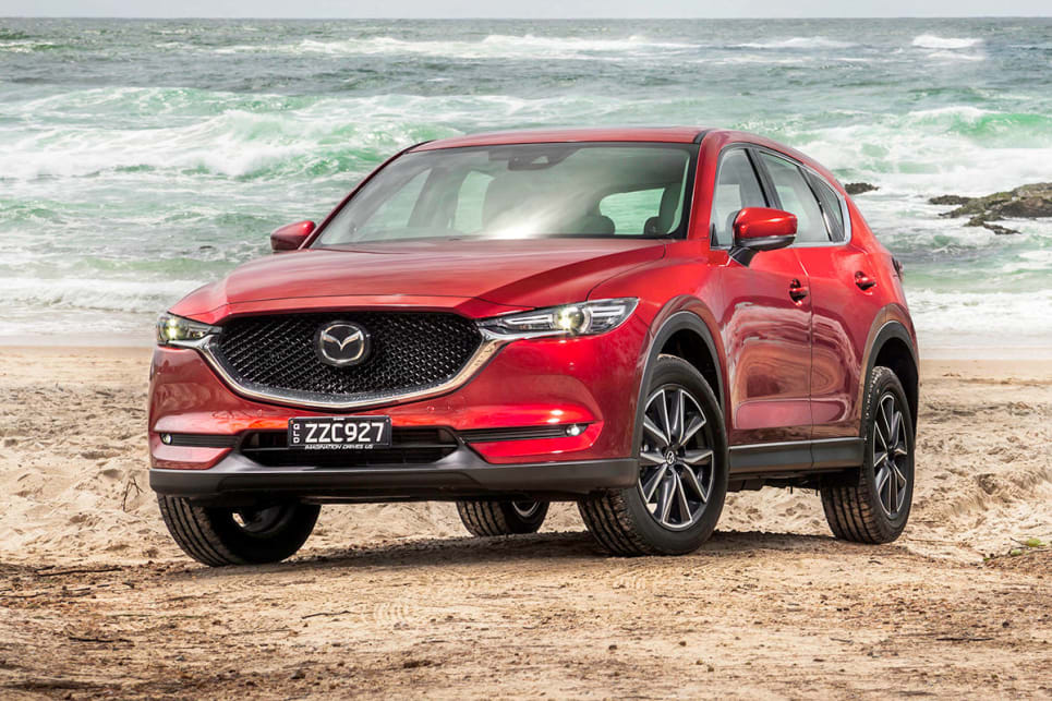 2017 Mazda CX-5 (Akera variant shown)