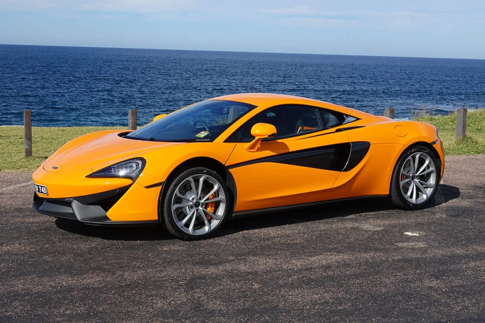 Believe it or not, the McLaren 540C is an entry-level model. (Image credit: James Cleary)