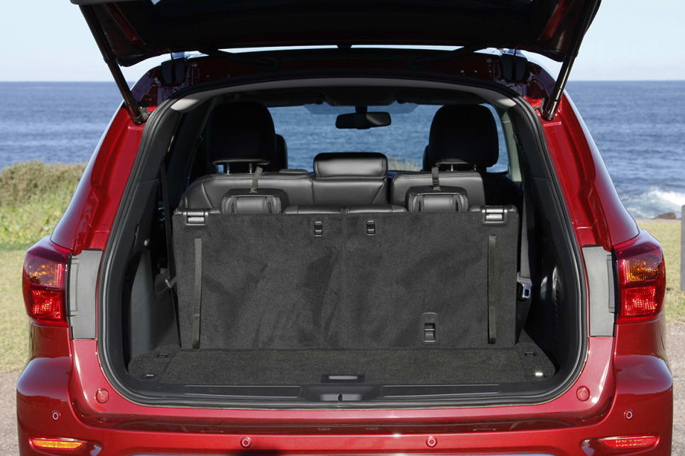 In the boot, Nissan reckons you'll have 453 litres with all seats up. (Image credit: Peter Anderson)