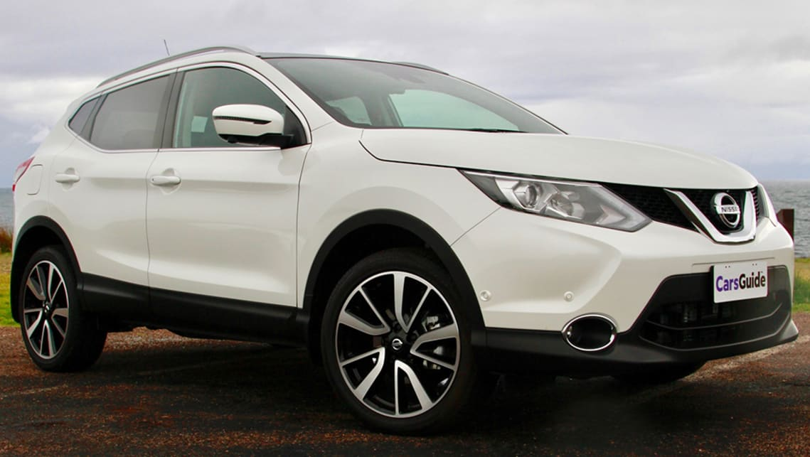 Despite strong competition, the Nissan Qashqai is also worth a look. (Image credit: Peter Anderson)