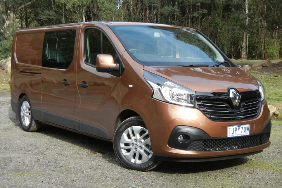 The Renault Trafic Crew is B-I-G big with a wheelbase that's 278mm longer than a Ranger 4x4 dual cab ute. (image credit: Mark Oastler)