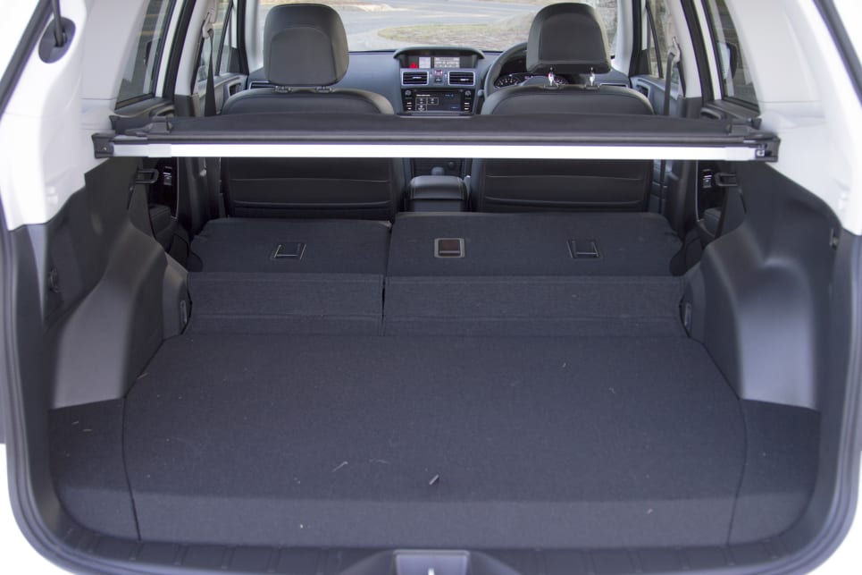 The boot volume will grow from 422 litres to 1474 litres if you flatten the rear seats. (image credit: Peter Anderson)
