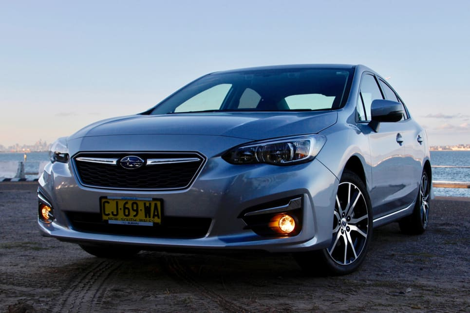 In terms of design, the sedan is arguably not as successful as the hatch. (Image credit: Peter Anderson)
