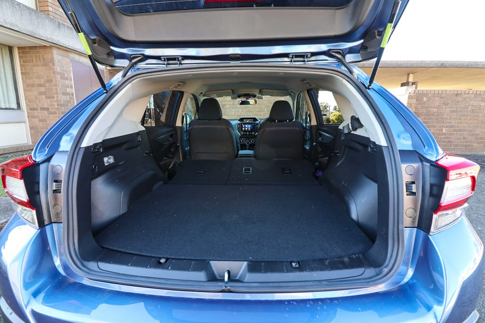The cargo area is now 100mm wider and also 40 litres bigger than the previous car. (image credit: Tim Robson)