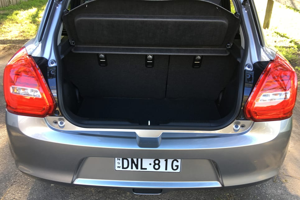 The 242 litres of boot space will grow to a good 947 litres with the 60/40 split rear seats folded flat.