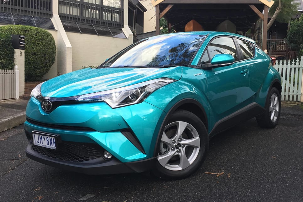 Toyota's C-HR stands out from the crowd with its wild styling.