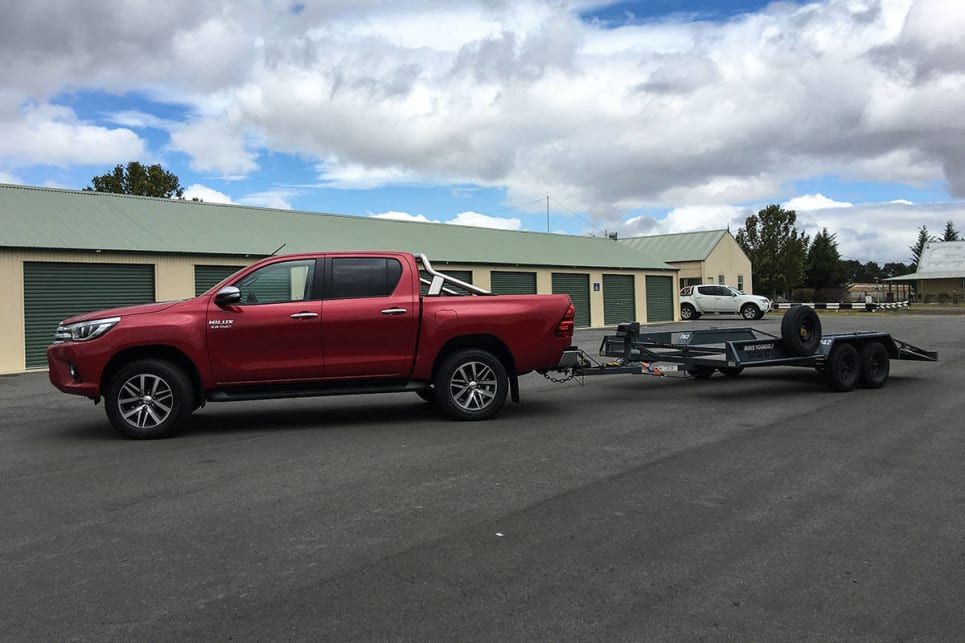 It ticks most of the boxes with a good rear axle and trailer sway control. (Image credit: Tim Robson)