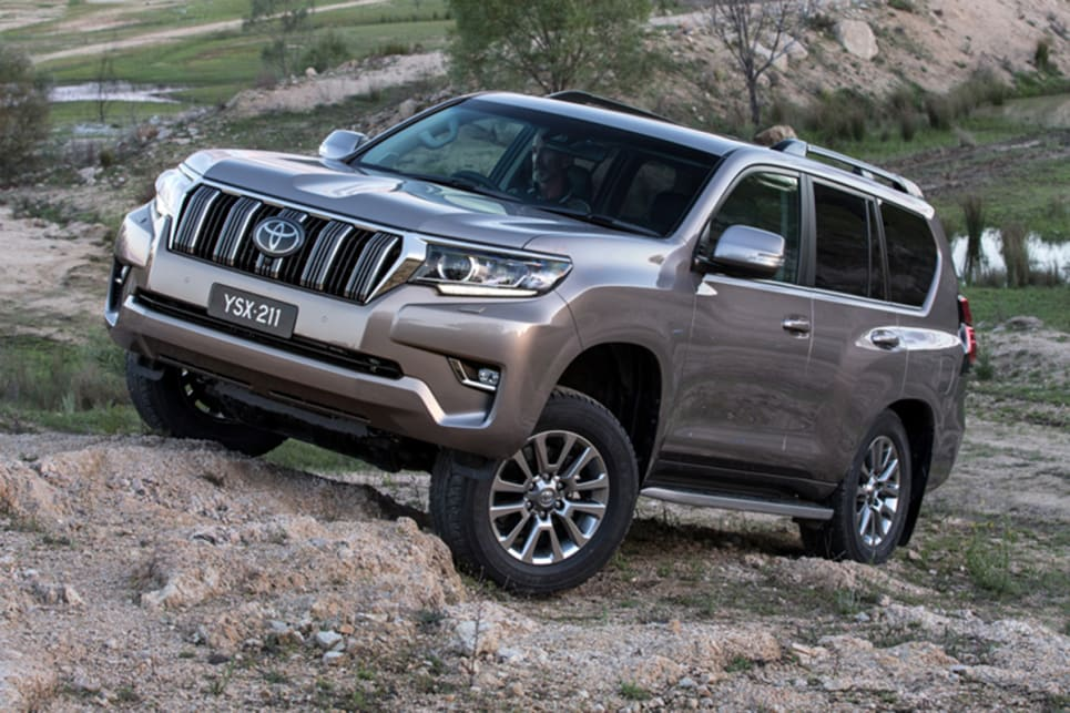 Refreshed Toyota LandCruiser Prado gets safety and pricing tweaks as part of a late-life facelift.