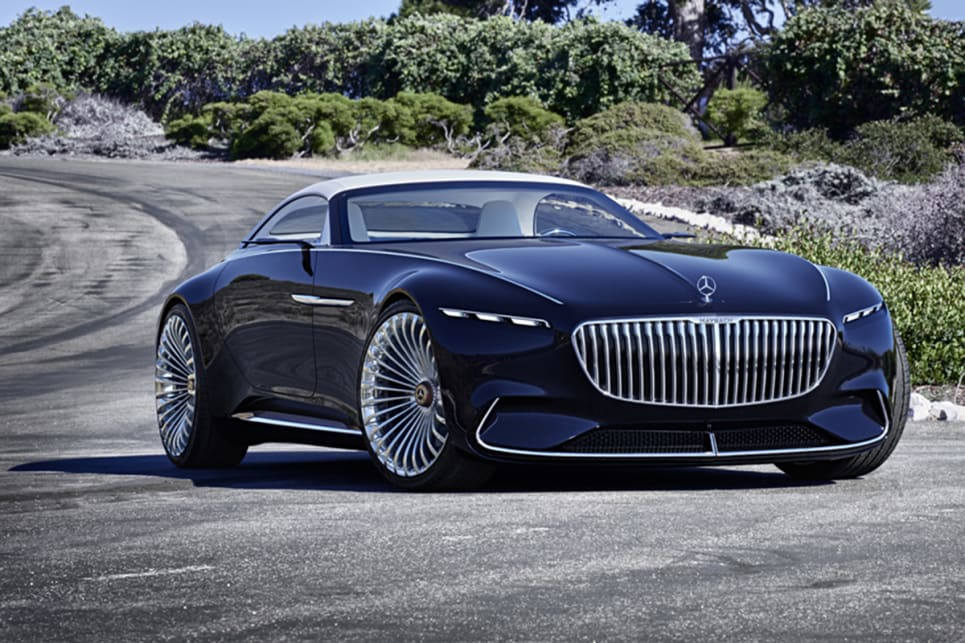 Vision Mercedes-Maybach 6 Cabriolet unveiled at Pebble ...