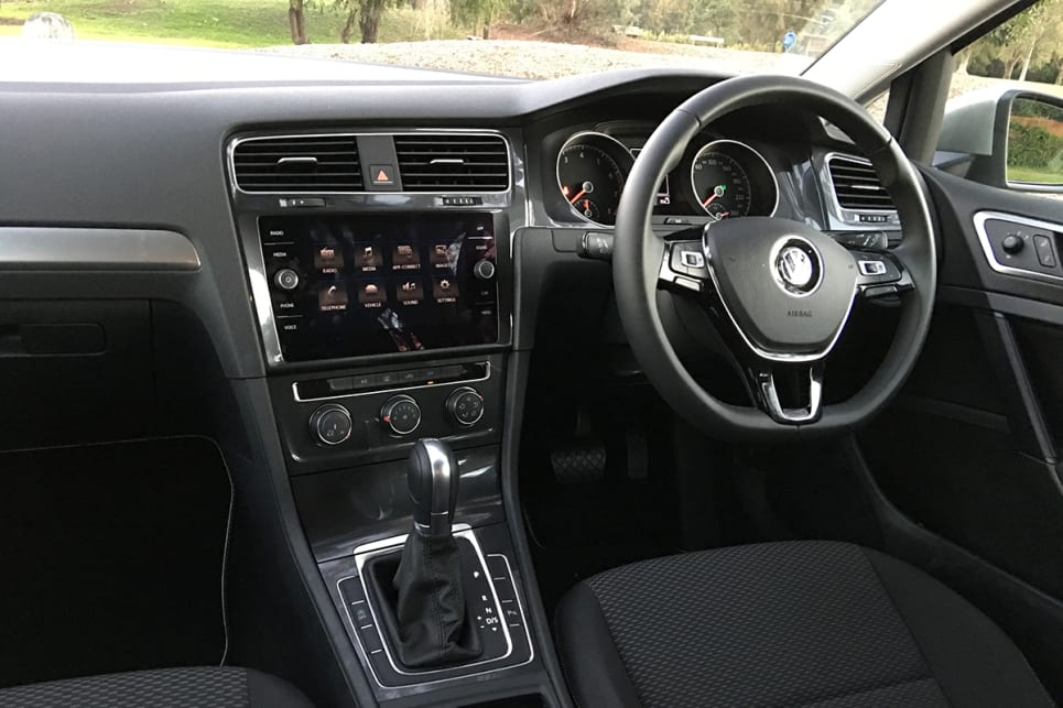 All the switches have a quality feel to them, including those on the steering wheel. (image credit: Andrew Chesterton)