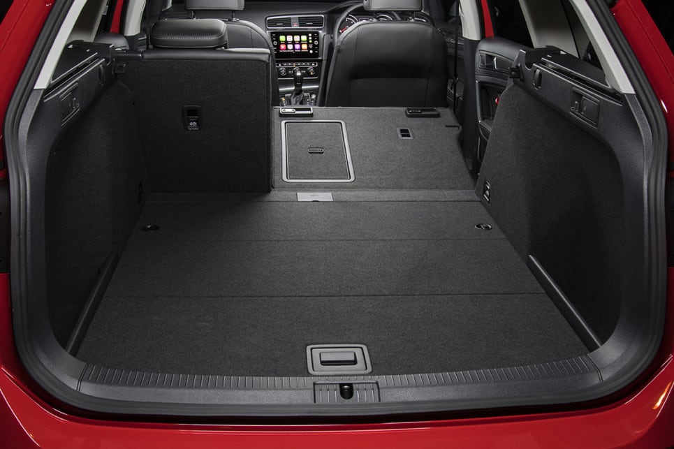 the Alltrack boasts a hefty 1270 litres of load space. (Volkswagen Golf Alltrack shown)