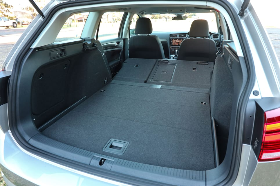 The boot also offers 1620 litres with the seats folded down. (image credit: Tim Robson)