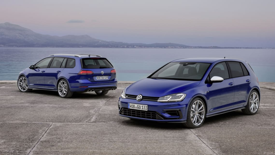 Volkswagen Golf R 2017 Wagon And Wolfsburg Edition Pricing And Spec Confirmed Car News Carsguide