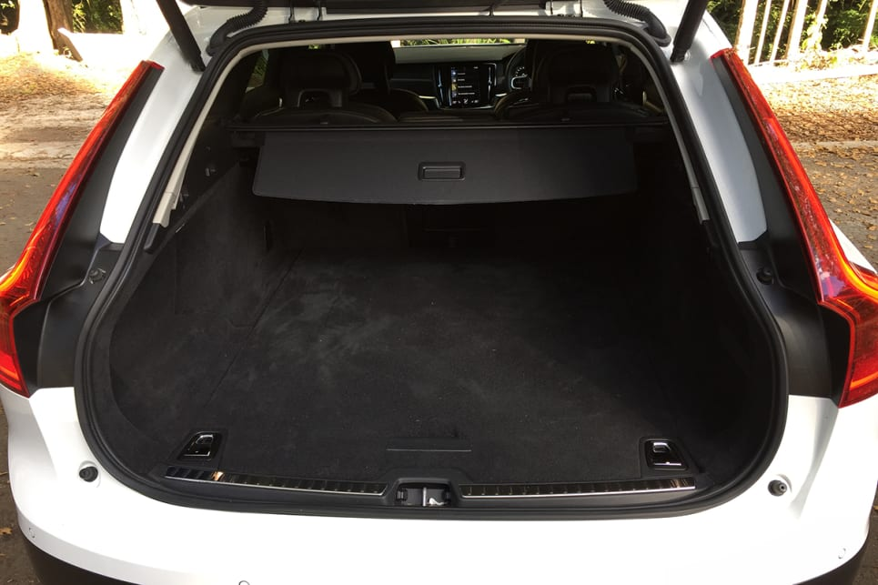 Although the Cross Country is long and sleek, the newly shaped, angled back compromises cargo space a tad. (image credit: Vani Naidoo)