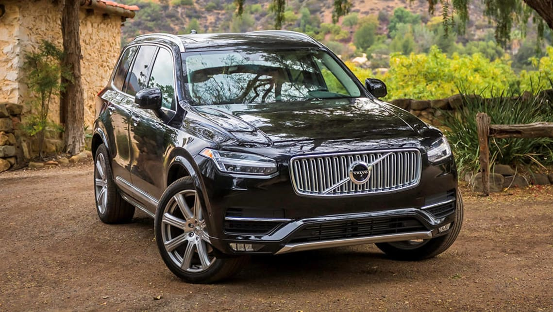 The Volvo XC90, in addition to three ISOFIX fittings, has two integrated booster seats.