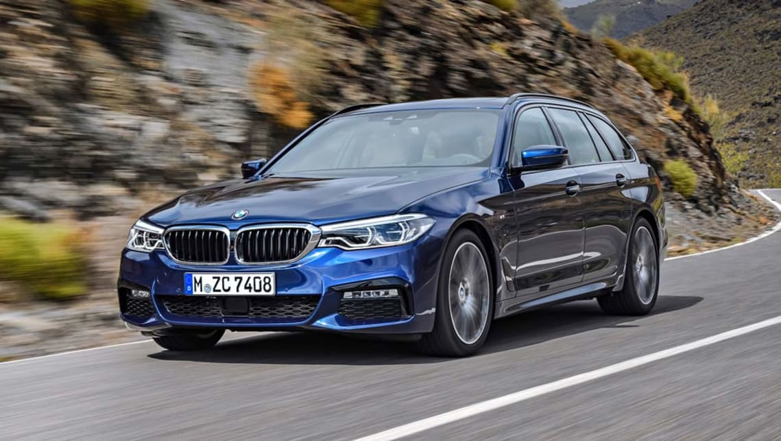 2017 BMW 5 Series Touring.