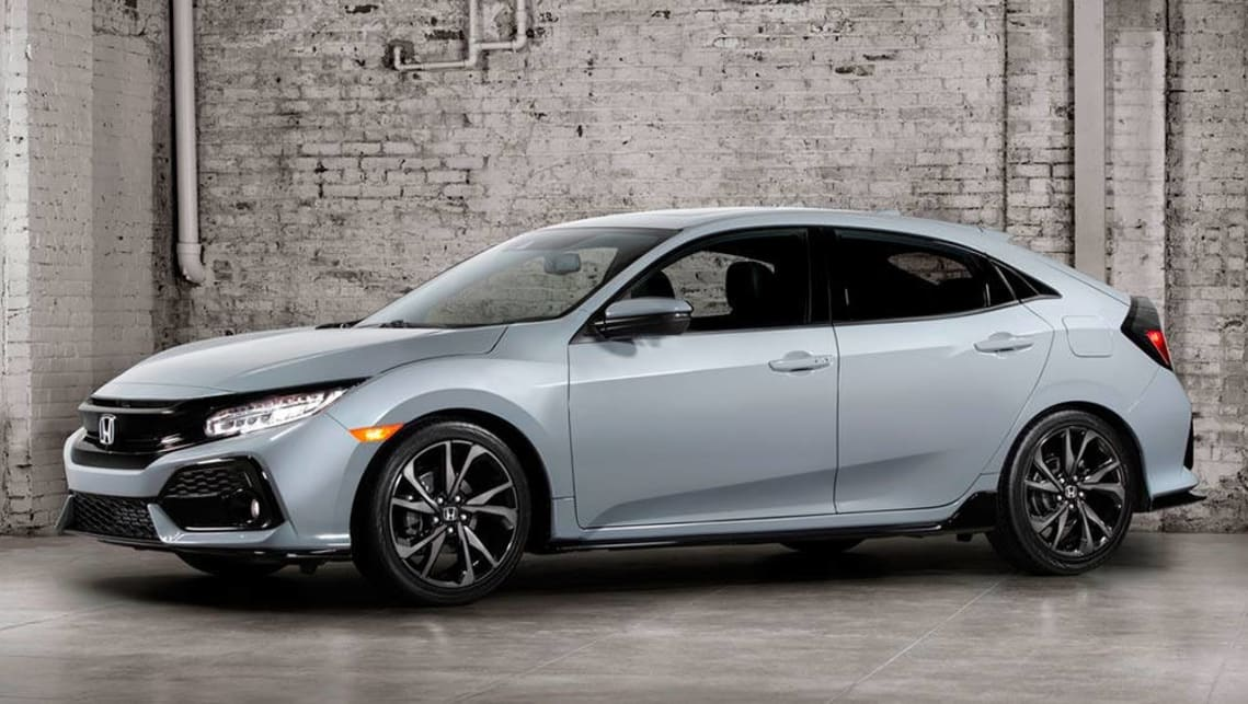 2017 Honda Civic hatchback.