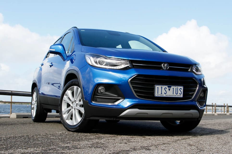2017 Holden Trax LTZ. Image credit: Peter Anderson.