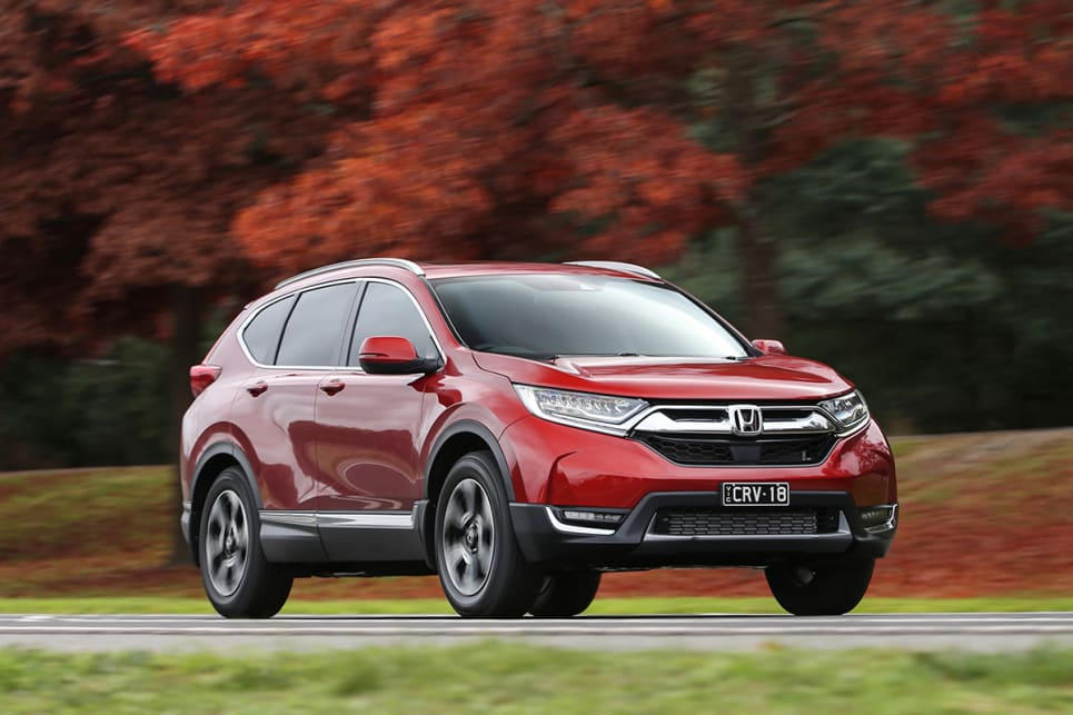 The VTi-LX is the king of the CR-V range and lists for $44,290. (VTi-LX model shown)