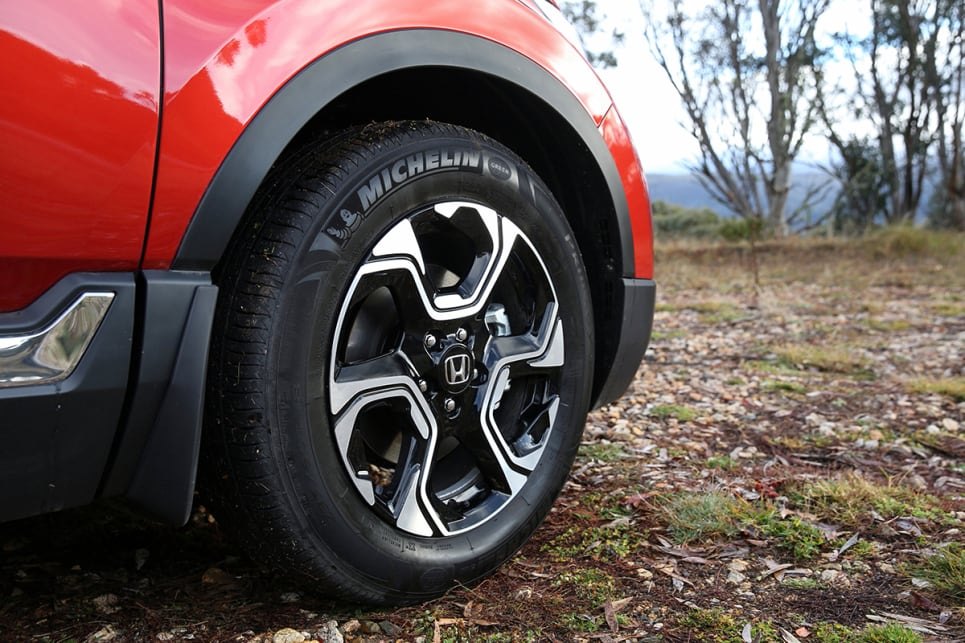 The VTi-LX comes with 18-inch alloy wheels. (VTi-LX model shown)