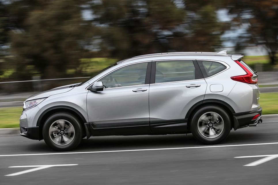 This fifth-generation CR-V looks like it found a gym and reappeared as a beefed-up version of the last model. (VTi model shown)