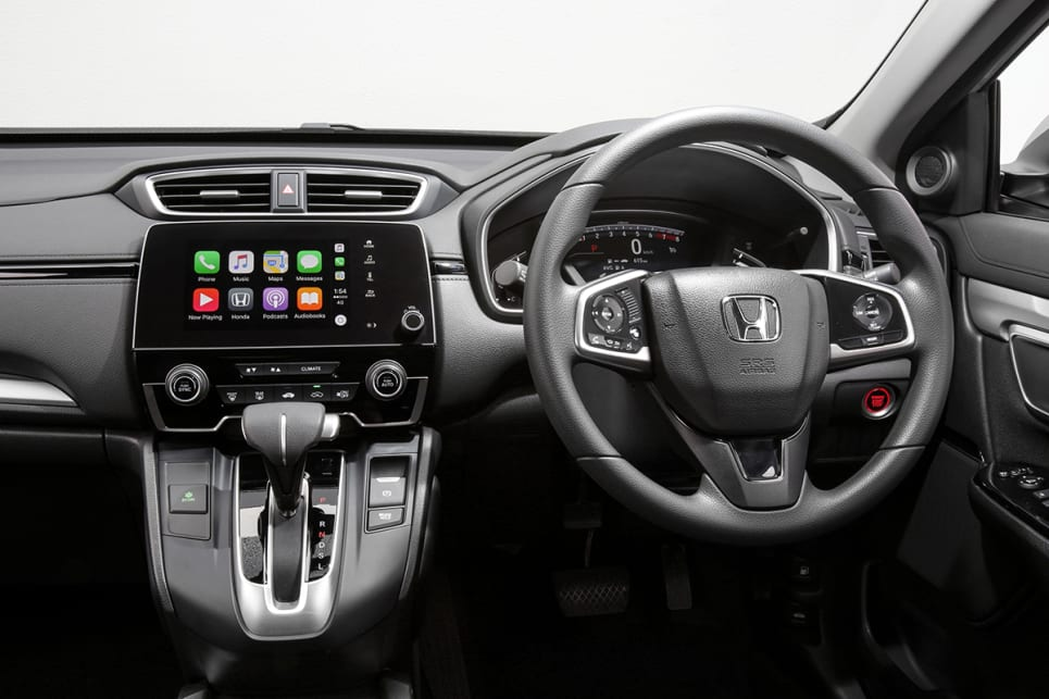The new generation CR-V doesn't come with a manual gearbox, instead buyers will have to go with the CVT auto on all models. (VTi model shown)