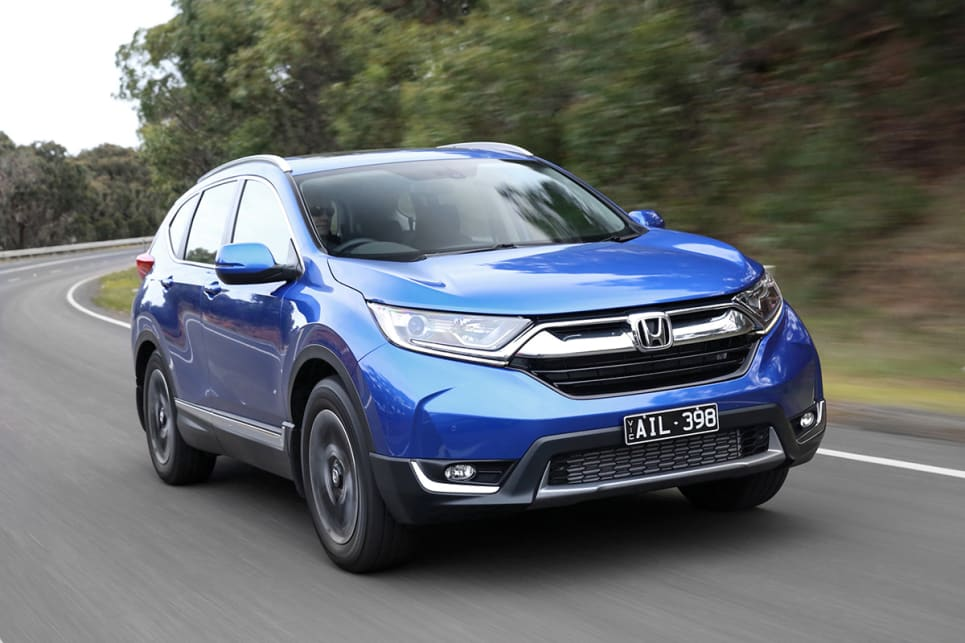 Honda's CR-V is one of the original compact SUVs and is now on its fifth generation. (VTi-L model shown)